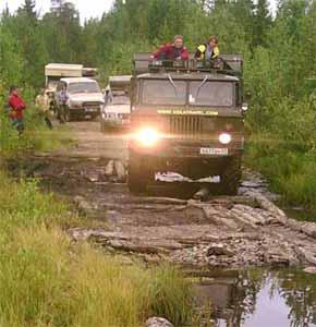 4x4 Polar Off Road Adventure Tours Northwest Russia